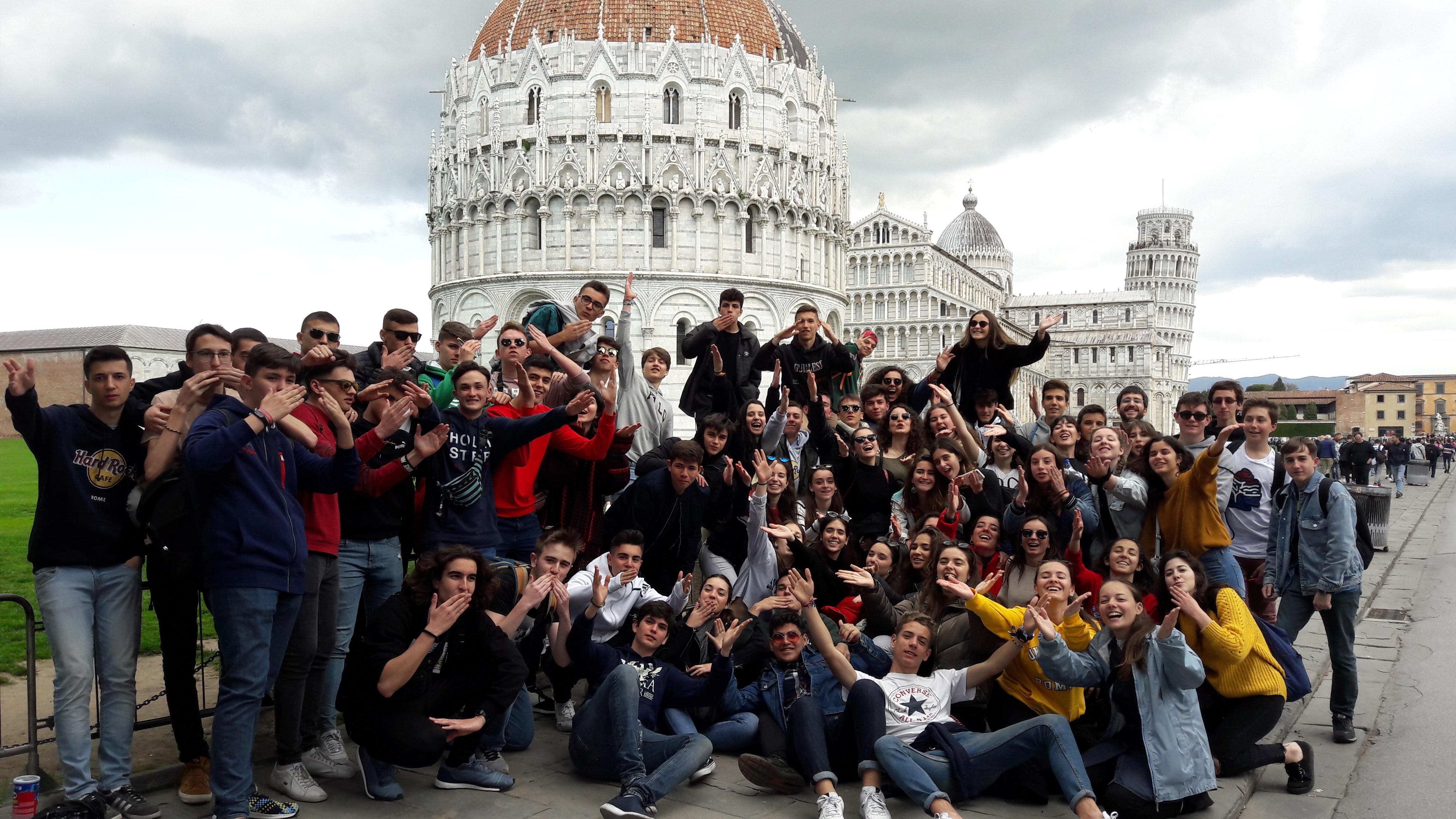 VIAJE A ITALIA 1º BACHILLERATO