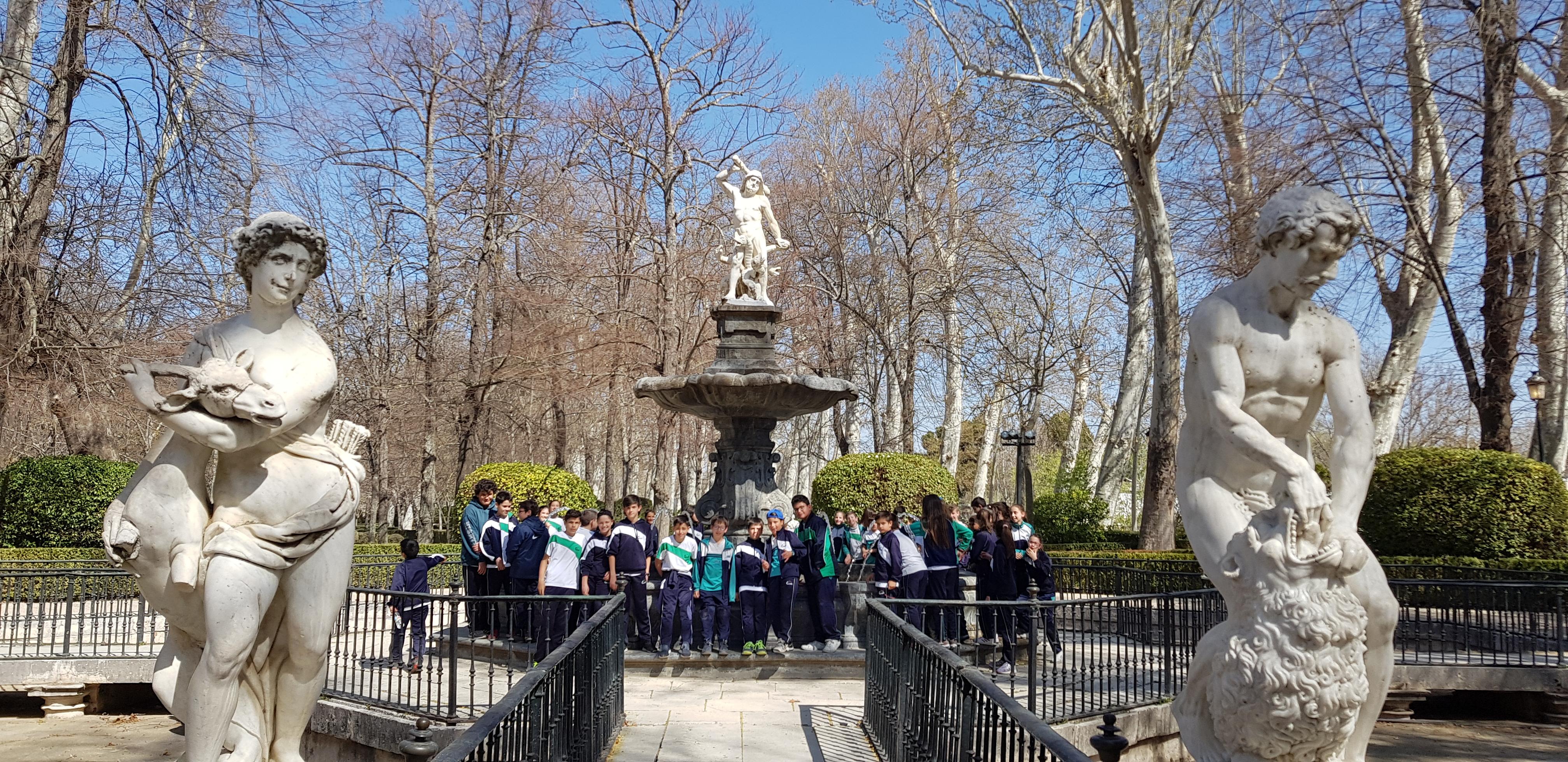 Visita a Aranjuez de 6º de Primaria