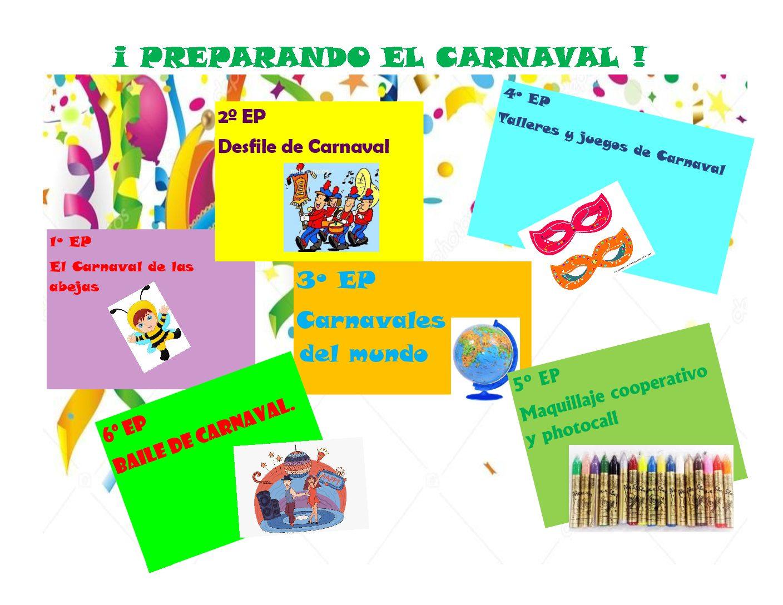 PREPARAMOS EL CARNAVAL EN PRIMARIA.